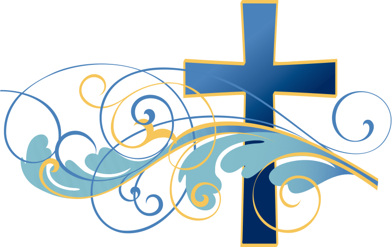 Swirls-and-Christian-Cross-Clipart